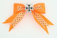 Dot orange / herocross black orange mix