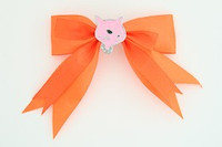 Orange / cat pink orange animal