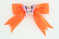 P orange / butterfly pink orange animal