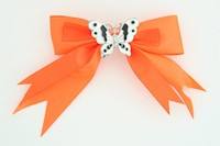 Orange / butterfly white orange animal
