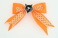 Dot orange / cat black orange animal