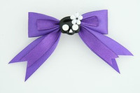 Purple / cute skull flower black-white dark purple cute skull