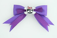 Purple / cute skull bone black-red dark purple cute skull