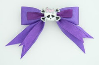 Purple / cute skull bone white-pink dark purple cute skull