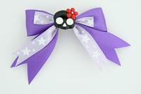 Purple / cute skull flower black-red dark purple cute skull