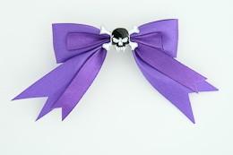 Purple / skull tooth black dark purple skull