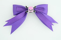 Purple / skull tooth pink dark purple skull