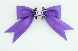 Purple / skull squared pink dark purple skull