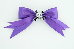 Purple / skull cross eye white dark purple skull