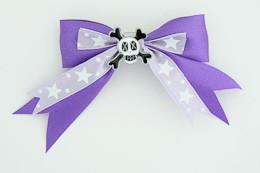 Purple / skull cross eye white dark purple skull