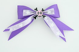 Purple / skull cross eye pink dark purple skull