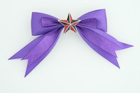 Purple / star black-red dark purple star