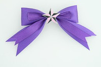 Purple / star black-pink dark purple star