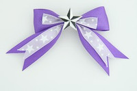 S purple / star white dark purple star