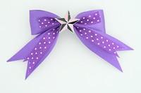 Dot purple / star black-pink dark purple star