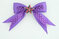 Dot purple / star black-red dark purple star