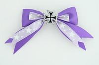 S purple / herocross black dark purple mix