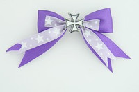 Purple / herocross white dark purple mix