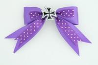 Dot purple / herocross black dark purple mix