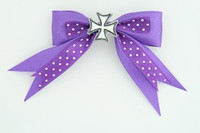 Dot purple / herocross white dark purple mix
