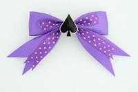 Dot purple / ace of spades dark purple mix