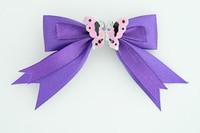 Purple / butterfly pink dark purple animal