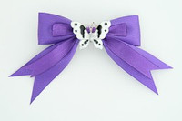 Purple / butterfly white dark purple animal