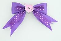 Dot purple / cat pink dark purple animal
