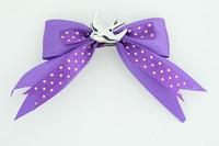 Dot purple / swallow white dark purple animal
