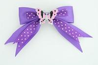 Dot purple / butterfly pink dark purple animal