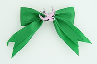 Green / swallow pink green animal