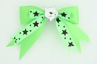 Green / cat white green animal