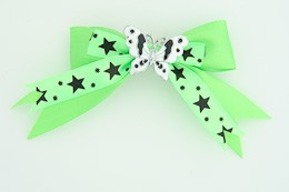 Green / butterfly white green animal