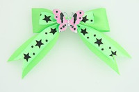 Green / butterfly pink green animal