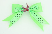 Dot green / swallow red green animal