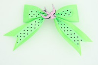 Dot green / swallow pink green animal