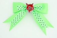 Dot green / cat red green animal