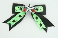 Bl-green / Star cherry black-white black-green star