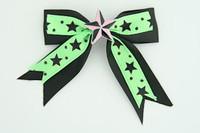 Bl-green / star pink black-green star