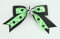 Bl-green / star white black-green star