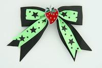 Bl-green / strawberry black-green mix