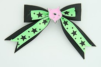 Bl-green / cat pink black-green animal
