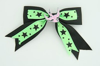 Bl-green / swallow pink black-green animal