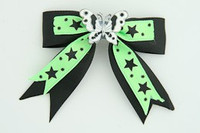 Bl-green / butterfly white black-green animal