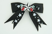 Bl-white / star cherry black-white black-white star