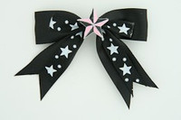 Bl-white / star pink black-white star