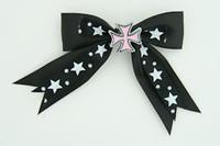 Bl-white / herocross pink black-white mix