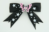 Bl-white / butterfly pink black-white animal