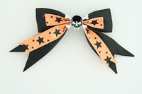Bl-orange / skull tooth black black-orange skull