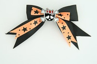 Bl-orange / cute skull bone black-ted black-orange cute skull